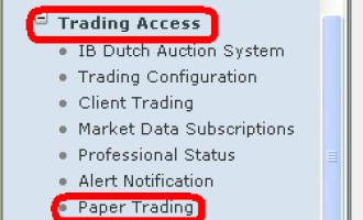 盈透证券问答(二)模拟账户问题