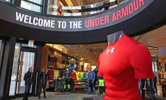 美国著名体育运动装备品牌——安德玛(NYSE:UAA)