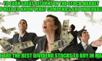3月份最佳股息股票