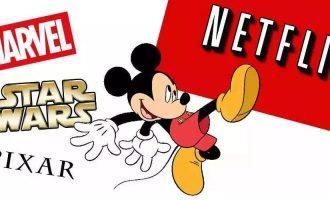 迪士尼推出新流媒体服务,Netflix是否会被用户抛弃?