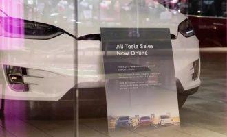 """销量数据引质疑 押注线上销售的特斯拉能否赢得""""未来""""?"""
